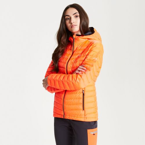 Women's Elative Down Fill Insulated Jacket Fiery Coral